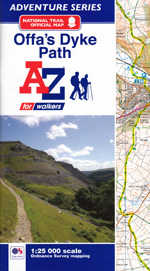 Offa's Dyke Path AZ Adventure Map